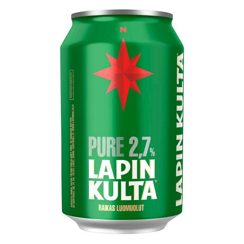 LAPIN KULTA PURE 2,7% TLK 330 ML