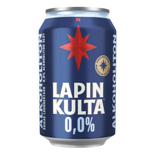 LAPIN KULTA 0% TLK 330 ML