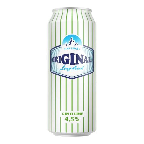 ORIGINAL LONG DRINK WL 4,5% GIN & LIME TLK 500 ML