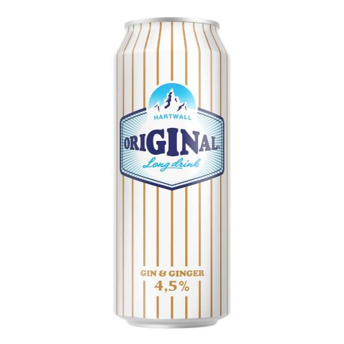ORIGINAL LONG DRINK WL 4,5% GIN & GINGER TLK 500 ML