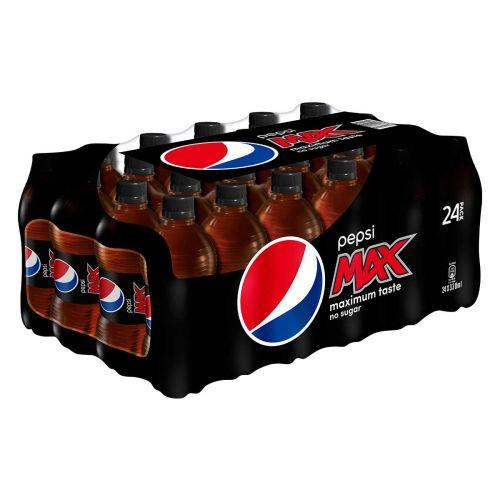 PEPSI MAX 0,33 KMP 24-PACK  7,92 L