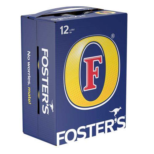 FOSTER'S 4,5% 0,33 TLK 12-PACK 3,96 L