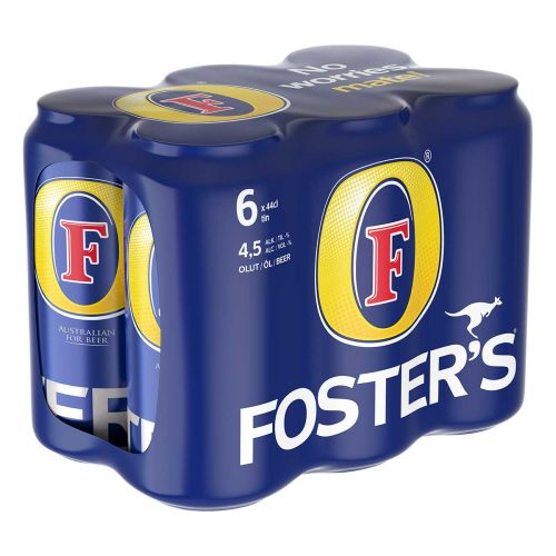 FOSTER'S 4,5% 0,44 TLK 6-PACK  2,64 L