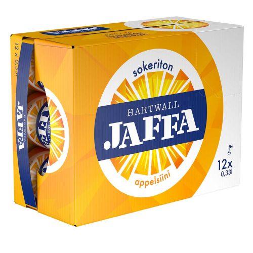 HARTWALL JAFFA APPELSIINI SOKERITON 0,33 TLK 12-PACK 3,96 L