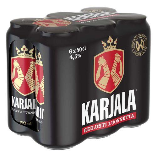 KARJALA 4,5% 0,5 TLK 6-PACK  3 L