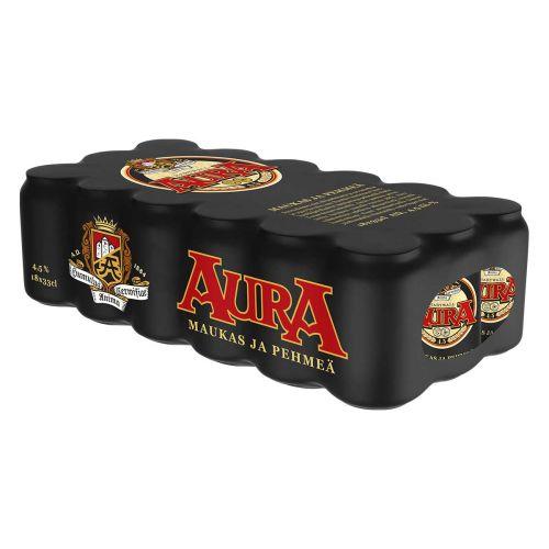 AURA 4,5% 0,33 TLK 18-PACK  5,94 L