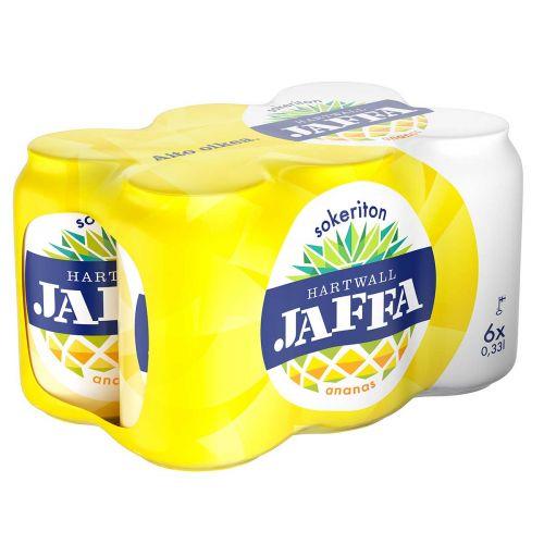 HARTWALL JAFFA ANANAS SOKERITON 0,33 TLK 6-PACK 1,98 L
