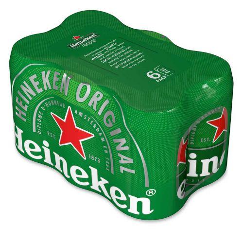 HEINEKEN 5,0% 0,33 TLK 6-PACK 1,98 L