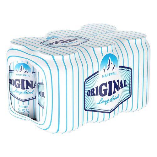 ORIGINAL LONG DRINK 5,5% WL 0,33 TLK 6-PACK 1,98 L