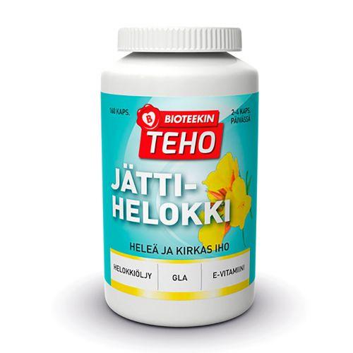 BIOTEEKIN TEHO JÄTTIHELOKKI  160 KPL