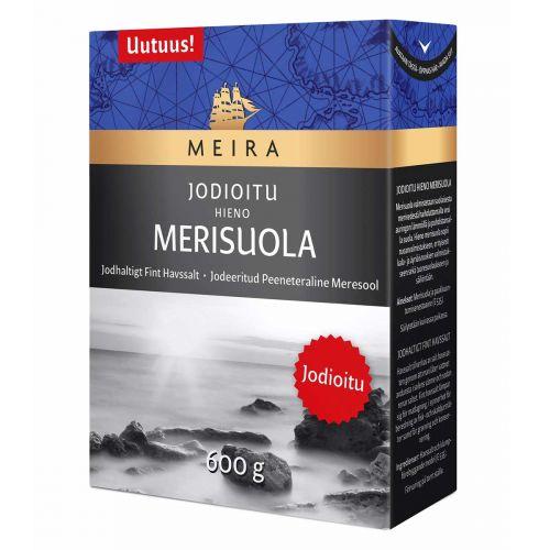 MEIRA JODIOITU HIENOKITEINEN MERISUOLA 600 G