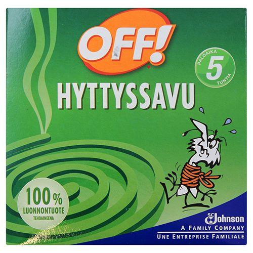 OFF! HYTTYSSAVU / RÖK 10KPL 140G 140 G