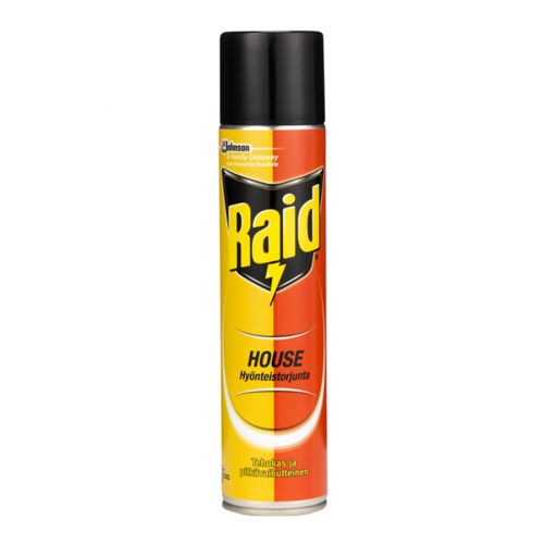 RAID HOUSE HYÖNTEISTORJUNTA-AEROSOLI 300ML 300