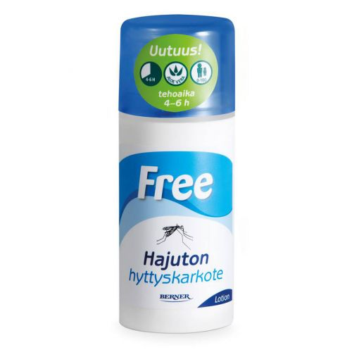 Free hyttyskarkote lotion 100ml