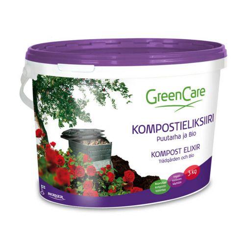 GreenCare kompostieliksiiri Puutarha ja Bio 3kg