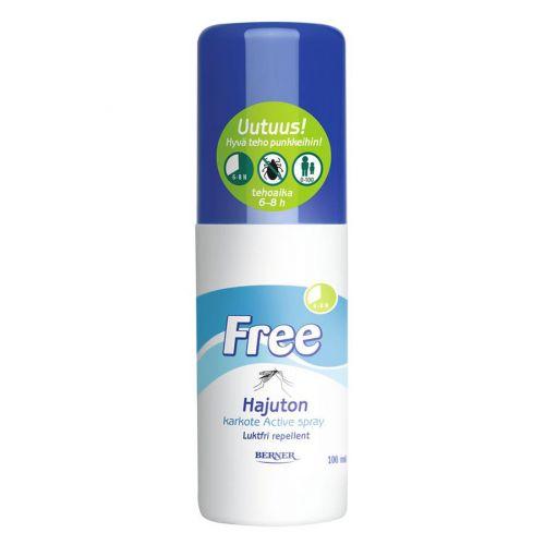 Free Active spray hyönteiskarkote 100ml