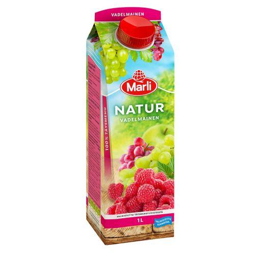 MARLI NATUR VADELMAINEN TÄYSMEHU 1 L