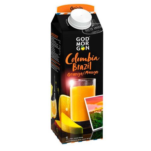 GOD MORGON COLOMBIA/BRAZIL ORANGE-MANGO 1L