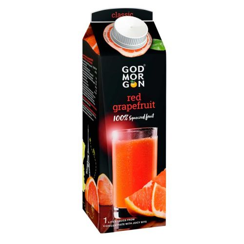 GOD MORGON CLASSIC RED GRAPEFRUIT JUICE 1L