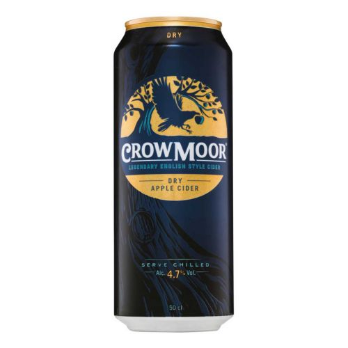 CROWMOOR 4,7% DRY APPLE TLK 500 ML