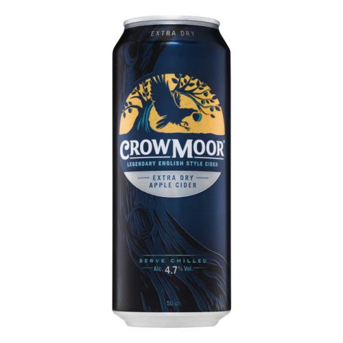 CROWMOOR 4,7% EXTRA DRY APPLE TLK 500 ML
