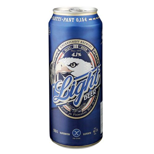 LIGHT BEER 4,1% TLK 500 ML