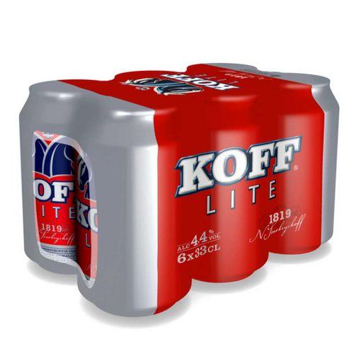 KOFF LITE 4,4% 0,33 TLK 6-PACK 1,98 L