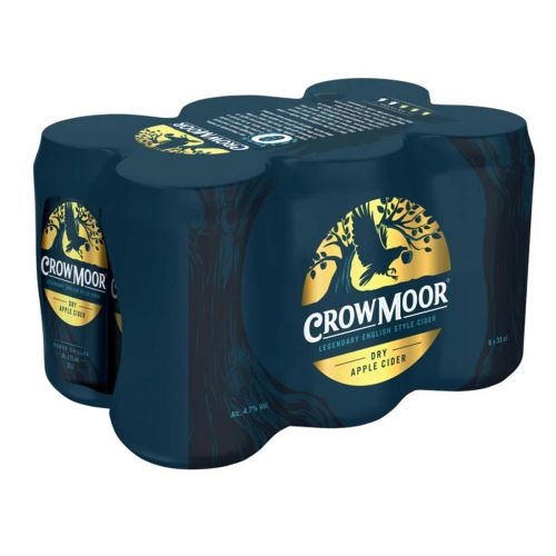 CROWMOOR 4,7% DRY APPLE 0,33 TLK 6-PACK 1,98 L