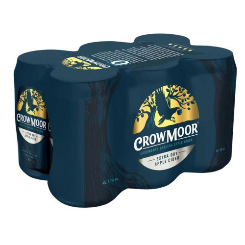 CROWMOOR 4,7% EXTRA DRY APPLE TLK 6-PACK 1,98 L