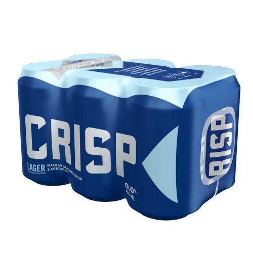 KOFF CRISP LAGER 0% 0,33 TLK 6-PACK 1,98 L