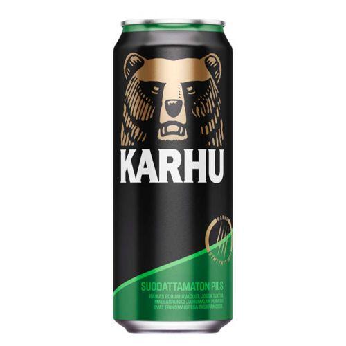 KARHU PILS 5% TLK  500 ML