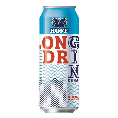 KOFF LONG DRINK 5,5% GRAPEFRUIT TLK 500 ML