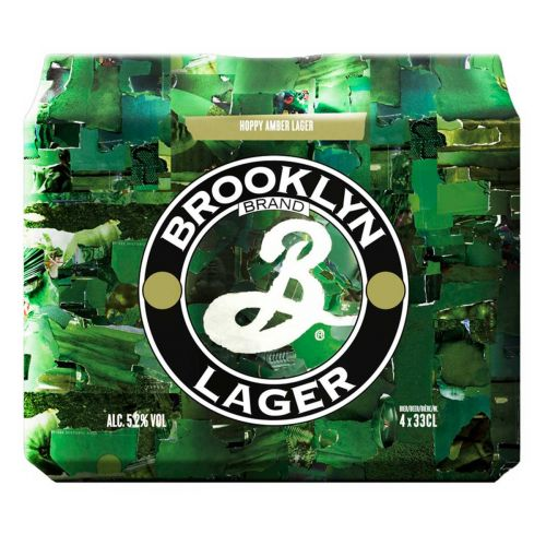 BROOKLYN LAGER 5,2% TLK 4-PACK 1,32 L