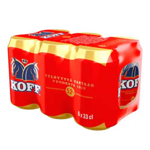 KOFF EXPORT 5,2% 0,33 TLK 6-PACK 1,98 L