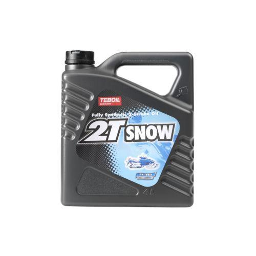 TEBOIL 2-T SNOW SYNTHETIC 2-TAHTIMOOTTORIÖLJY 4L 4 L