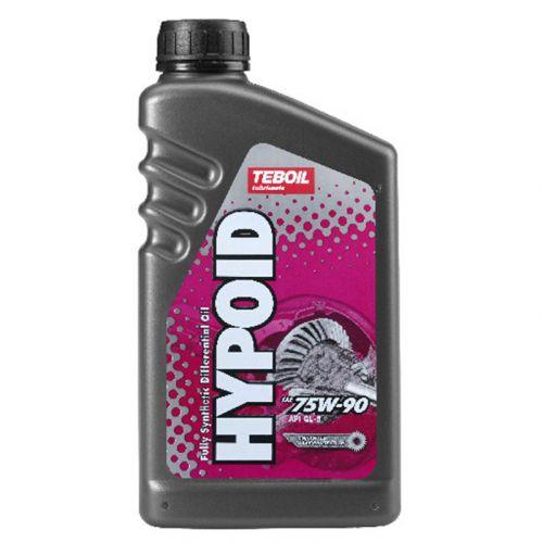 Teboil Hypoid 75W-90 1L vaihteisto- ja vetopyörästö-öljy