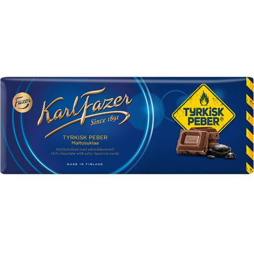 Karl Fazer Tyrkisk Peber maitosuklaa 200g
