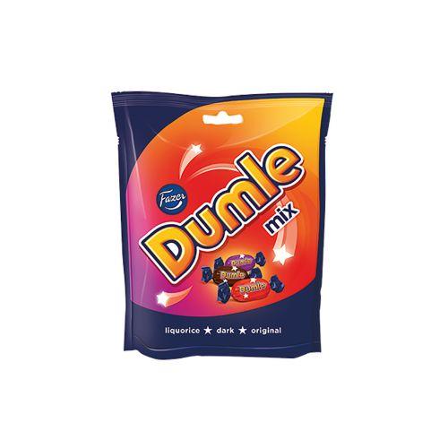 Fazer Dumle Mix 220g, kolmen sekoitus