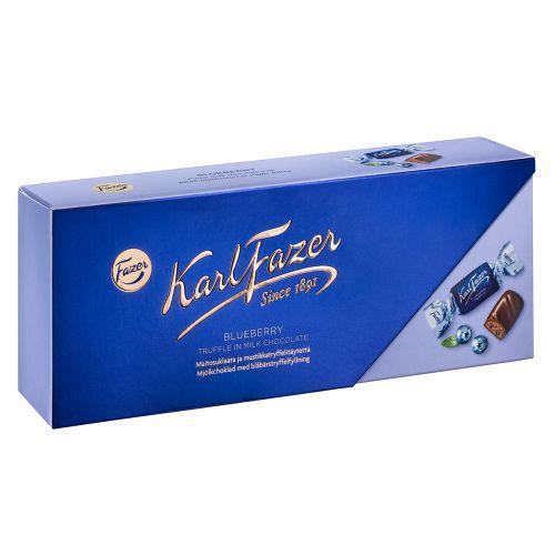 Karl Fazer Mustikkatryffeli suklaakonvehdit 270g