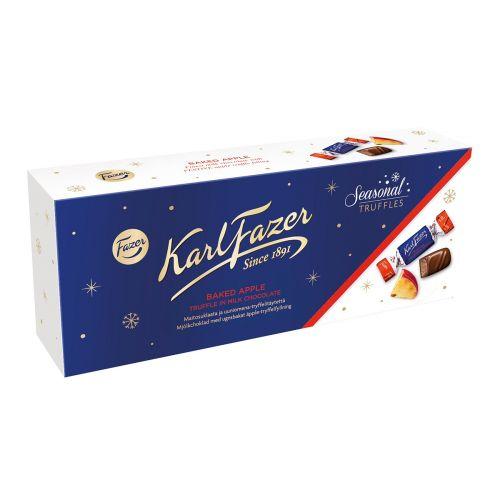 Karl Fazer Seasonal Truffles suklaakonvehdit 270g, Uuniomena