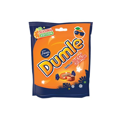 Fazer Dumle Sunny Orange 220g, kausimaku appelsiini