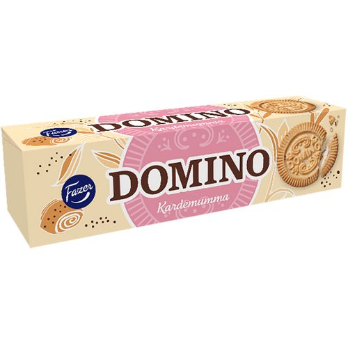 Fazer Domino Kardemumma 175g