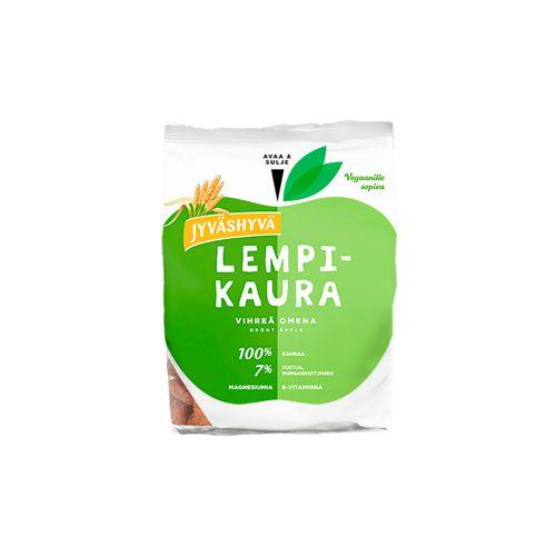 Jyväshyvä Lempikaura Vihreä omena välipalakeksi 150g