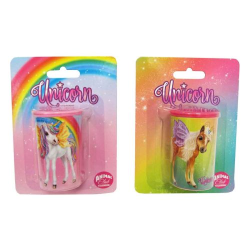 ANIMAL CLUB UNICORN GLITTER TÖLKKITEROITIN, 2 ERIL.LAJ.