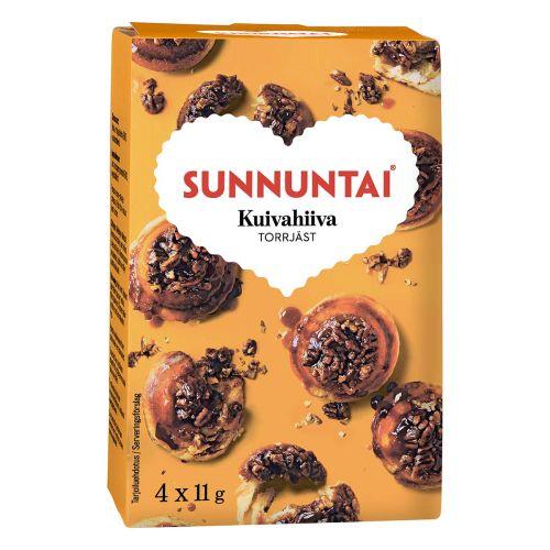 SUNNUNTAI KUIVAHIIVA 4KPL 44 G