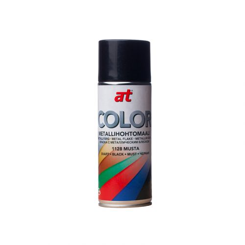 AT-COLOR METAL MUSTA  400 ML