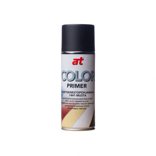 AT-COLOR PRIMER RUOSTEENESTOPOHJAMAALI MUSTA 400 ML