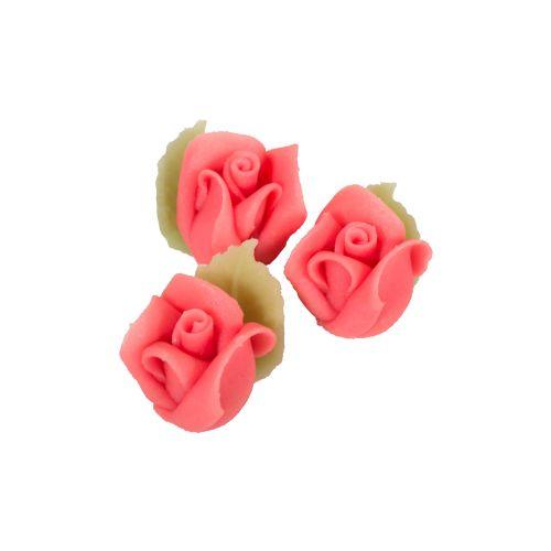 Marsipaaniruusu 3kpl, vaaleanpunainen