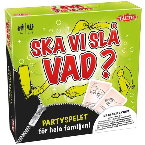 SKA VI SLÅ VAD