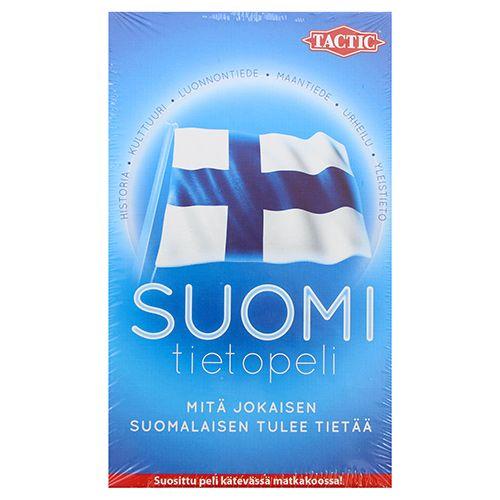 Tactic Suomi Tietopeli matkapeli